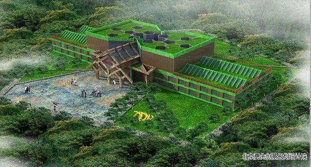 都是按照1+5+x(主题木屋别墅+田园,果园,菜园,树园,花园+配套资源设施图片