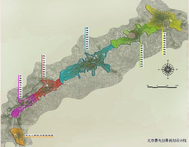 世界文化遗产——南溪土楼长城旅游区概念性规划