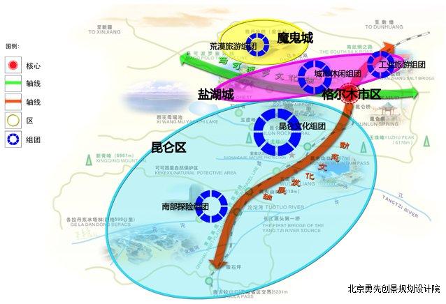 格尔木市十二五旅游发展总体规划