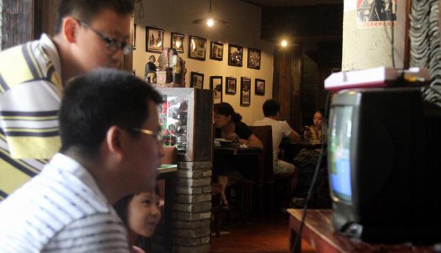 南昌 80后 打造怀旧主题餐厅受青睐高清图片