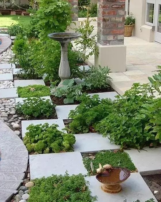 研发文章            蔬菜种植池可以有多种形式,可以是高出地平,由砖