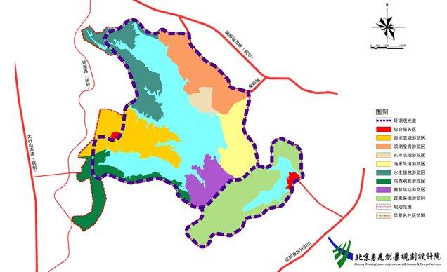 崆山白云洞风景名胜区·岐山湖景区环湖地块详细规划