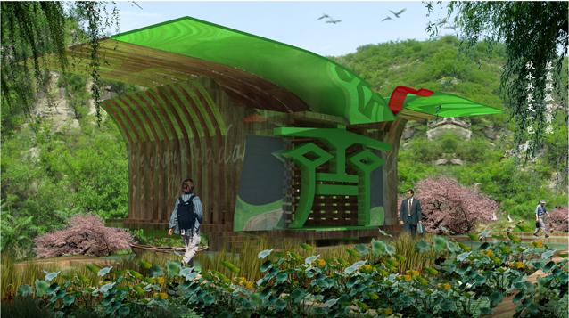 山地餐厅快题设计
